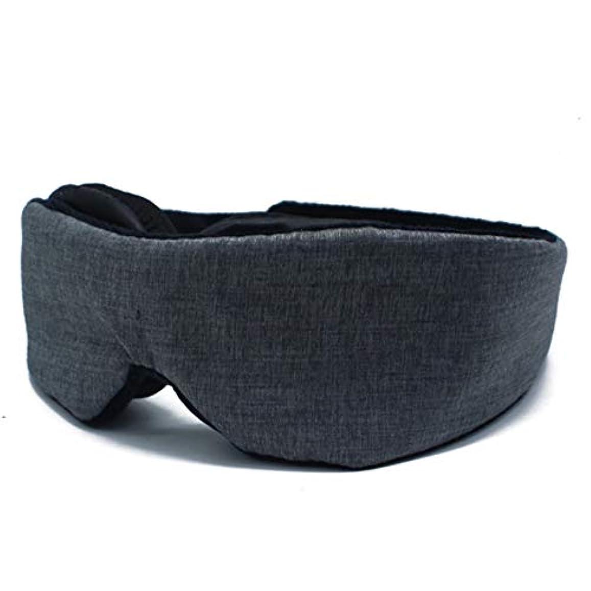 最大砂漠アリスNOTE 3dスリーピングアイマスク調節可能ブロックアウトライトアイカバーパッチ通気性トラベルレスト睡眠補助アイマスク目隠し睡眠