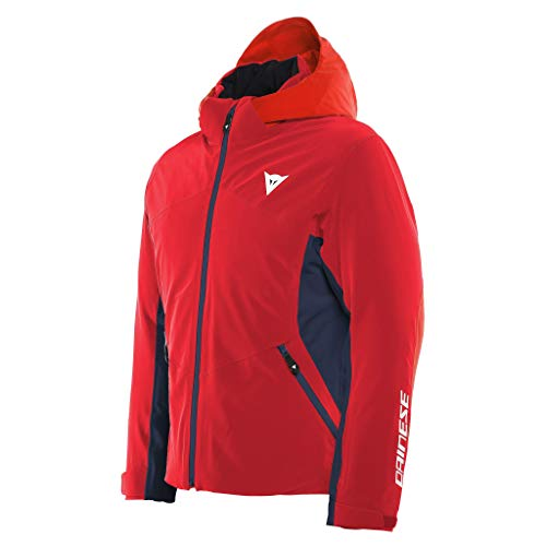 Dainese Herren HP2M3.1 Ski Jacke, Chili-Pepper/Rosso High-Risk/Nero Iris, M