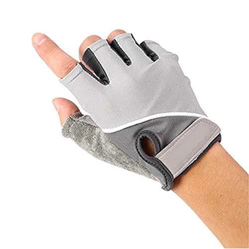 Guantes de medio dedo para deportes al aire libre protectores para hombres y mujeres fitness levantamiento de pesas ciclismo equitación