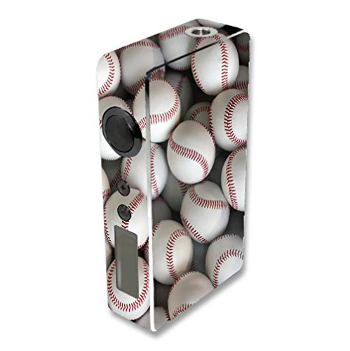 Decal Sticker Skin WRAP Lots of Baseballs for Sigelei 150W