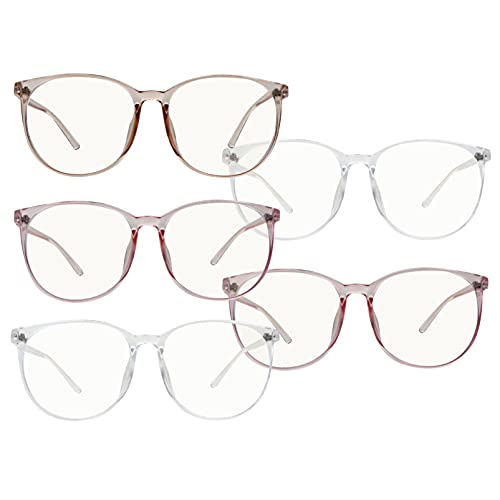 SOLUSTRE 3 Unidades de Gafas de Bloqueo de Luz Azul Antiazules Gafas de Bloqueo de Radiación Antiazules Gafas de Lectura por Ordenador Gafas de Hombres Y Mujeres Gafas de Ordenador para El