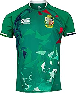 DFSV of New Zealand British and Irish Lions Rugby Men's Training Jersey L GREEN from DFSV