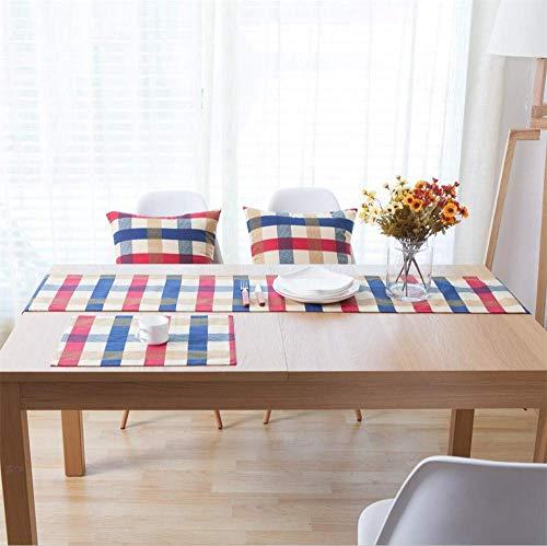 ZXL Eenvoudige mode thee vlag Geometrische patroon salontafel doek TV kast vest tafelkleed stof, 30 * 220CM