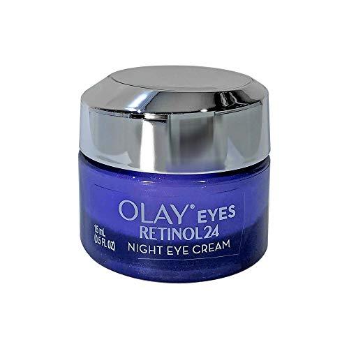 (Pack of 2) ΟΙay Regenerist RETINOL 24 Night EYE Cream, Vitamin B3, Fragrance Free, 0.5 Fl Oz (15 mL) EACH