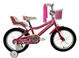 Umit Bicicleta 16' Lydia, Niñas, Rosa, Infantil