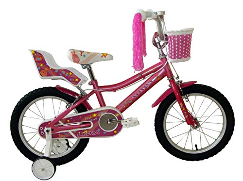 Umit Bicicleta 16' Lydia, Niñas, Rosa,...