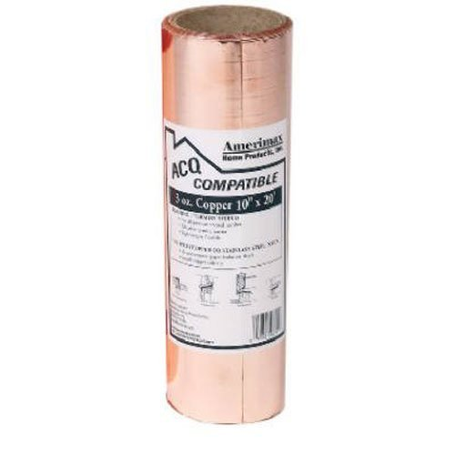 AMERIMAX HOME PRODUCTS 85067 10-Inch x 20-Feet Copper Flashing by Amerimax Home Products