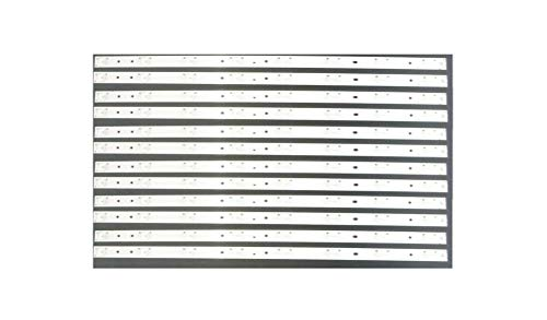 Replacement Backlight LED Strips Full Set (12) for Vizio E60-C3 E600DLB030-007