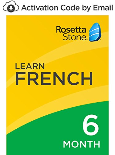 Rosetta Stone: Learn French for 6 months on iOS, Android, PC, and Mac Standard PC/Mac Online Code