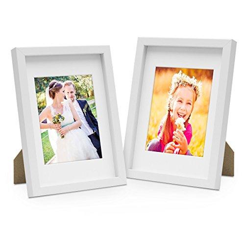 Photolini Set de 2 Marcos de Fotos de 15x20 cm