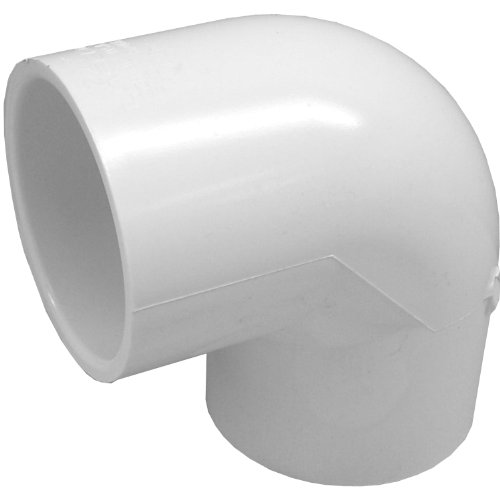 Genova Products 30705CP 1/2-Inch 90 Degree PVC Pipe Elbow - 10 Pack,White