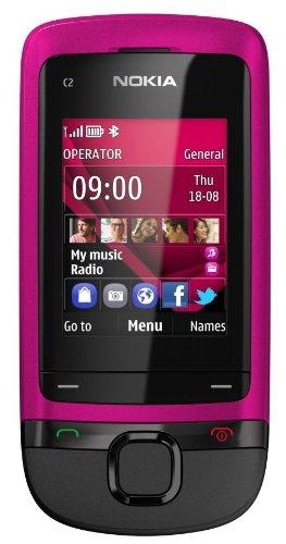 Nokia C2-05 (PINK) - Mobiltelefon - 220 g