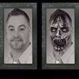 TETIIANA 2019 Horror Picture Frame Lenticular 3D Changing Face Scary Portrait Haunted Spooky