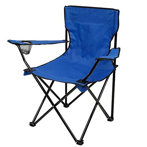 Outraveler Camping Chair Folding Chair Outdoor Potable Chair with Cup Ring Light Weight Compact Size Heavy Duty Sky Blue