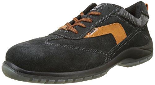 Exena A0235V002.48 Zapato X-Light en Piel Velour Transpirable, Metal Free Helios S1P SRC 48