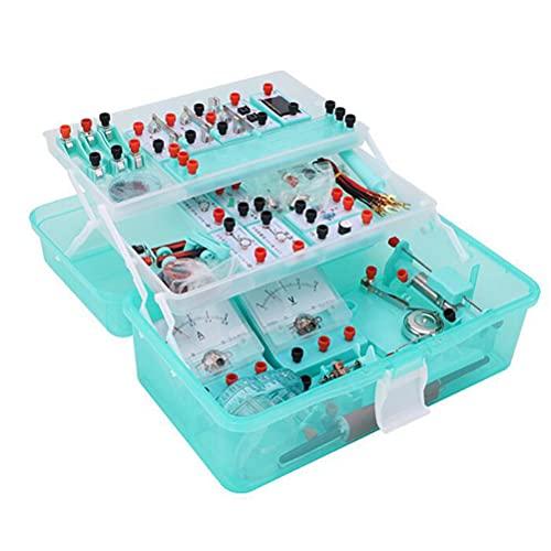 Kit Circuito Eléctrico Física Stem, CTIM Laboratorio de Física, Kit de Aprendizaje...