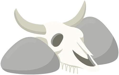 envio rapido a ti Sticker farwest     crane de vache - Format   111 x 72 cm  Las ventas en línea ahorran un 70%.