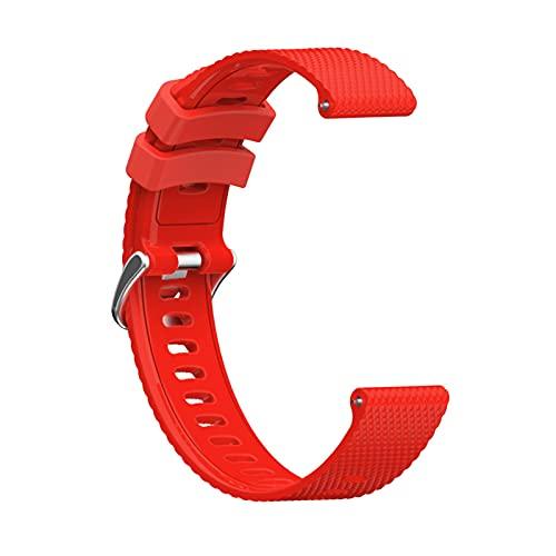 Pulsera de reloj inteligente accesorios de correa de diamante hebilla de acero adecuado para Garmin Vivoactive3/Vivomove/Forerunner 245 correa de diamante hebilla de acero