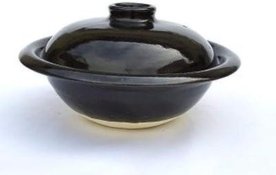 TOJIKI TONYA 伊賀 9号丸輪鍋(黒)