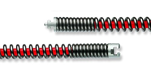 S-Rohrreinigungsspirale Ø 22mm verstärkt mit Kern (S-SMK) von ROWO®, auch für ROTHENBERGER®, REMS®, rak®, RIS®, VIRAX®, RIS®, KaRo®, RIDGID®