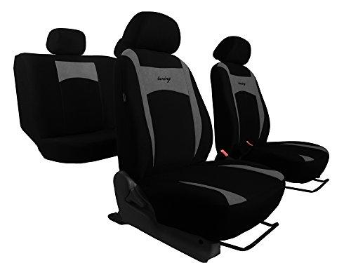 """Sitzbezüge """"SUPER DESIGN"""" passend für AMK. Schonbezüge, in diesem Angebot GRAU (In 6 Farben bei anderen Angeboten erhältlich)."""
