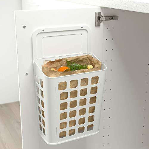 Ikea Variera   Cubo de basura para cocina, baño, plástico, 10 l