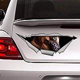 'N/A' Auto-Aufkleber, 40 cm, Deutscher Boxer, PVC-Aufkleber, Hunde-Aufkleber, deutscher Boxer, 3D-Auto-Aufkleber