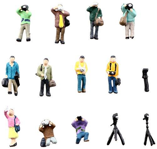 トミーテック ジオコレ 情景コレクション ザ・人間115 撮る人々 ジオラマ用品