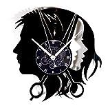 Instant Karma Clocks Orologio da Parete Disco in Vinile Parrucchiere Uomo Donna Barbiere Barber...