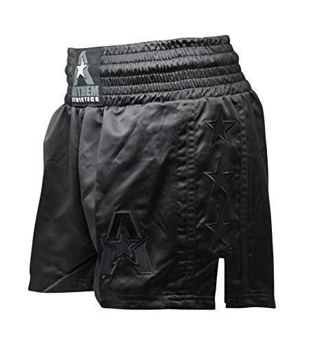 Anthem Athletics Classic Muay Thai & Kickboxing Shorts - Black - X-Large