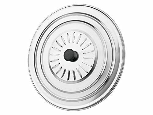 Tapa Para Sartén/ Tapadera Para Olla Aluminio Inoxidable 28cm/ Tapa Para Cacerola 28cm Aluminio Inoxidable/ Tapa Para Sartenes y Ollas 28cm