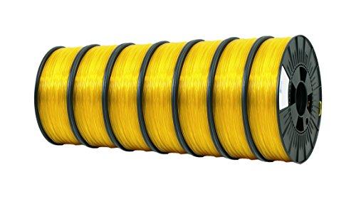 ICE FILAMENTS ICE7VALP124 Lot de 7 filaments PET Transparent 2,85 mm 0,75 kg