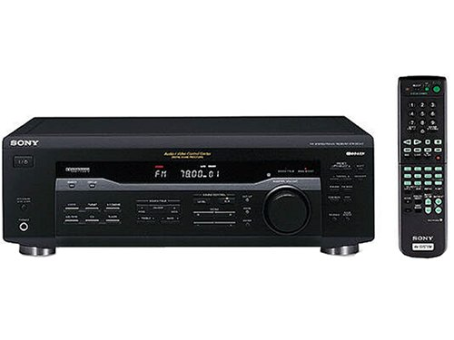 Sony STR-DE135 HiFi-Receiver schwarz