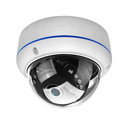 Learn More About ZDMSEJ Dome Surveillance Camera, ONVIF Network Camera, Outdoor Riot Camera 1080P 20fps, Night Vision Surveillance IP Camera, IP66 Waterproof, Motion Detection, POE Module Optional