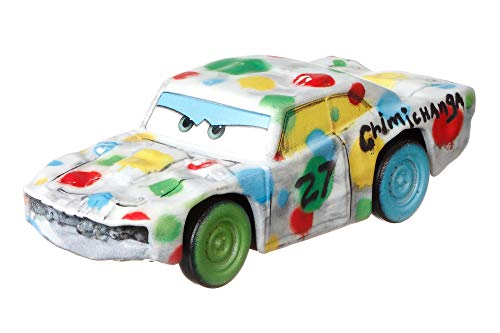 Disney Pixar Cars Jambalaya Chimichanga Die-cast Character Vehicles, Miniature, Collectible Racecar Automobile Toys Based on Cars Movies, for Kids Age 3 and Older