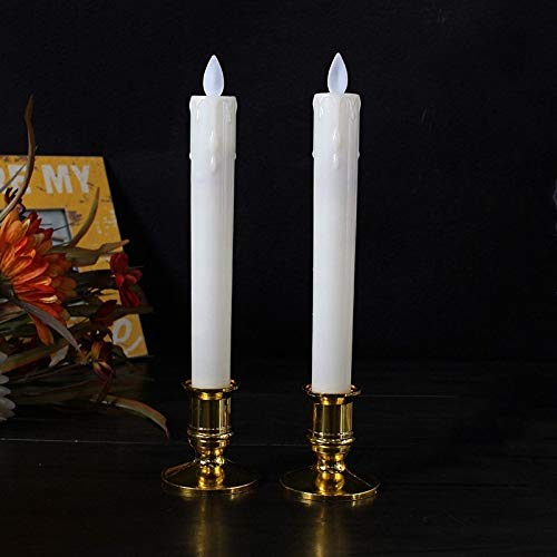 50 Table Candles Tapered Non Drip 19cm 7hr Burn Various Colours Great Value!