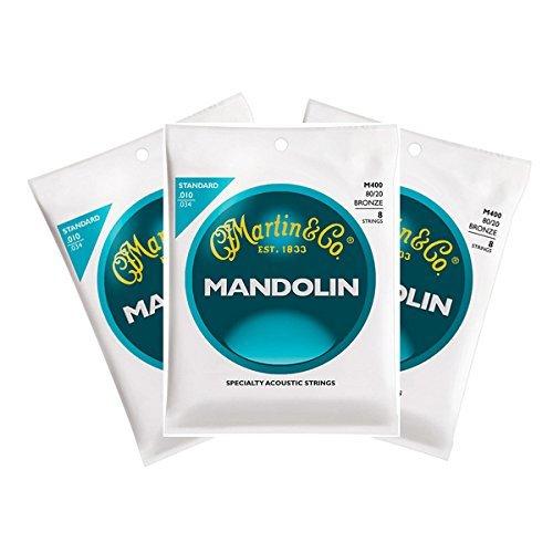 Martin M400 Mandolinensaiten, 3 Stück
