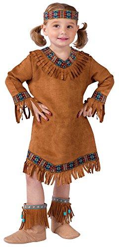 Fun World Kids Indian Girl Pocahontas Halloween Costume 3T-4T