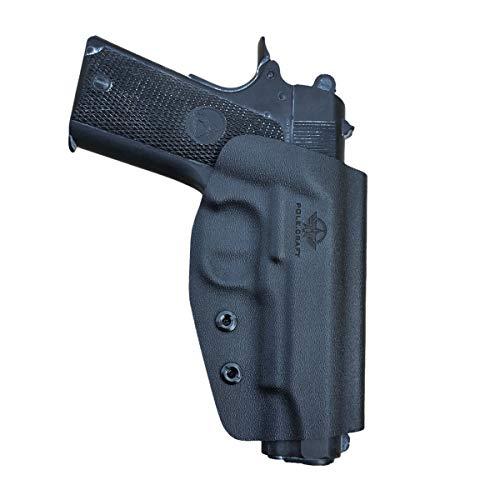 PoLe.Craft OWB KYDEX Holster Fits: Colt Commander 1911 .45 / 9mm / 4.25
