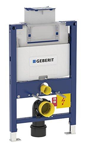 Geberit Montageelement Duofix, 111003001, Element für Wand-WC, mit Omega UP-Spülkasten, 2-Mengen-Spülung, 21107 9
