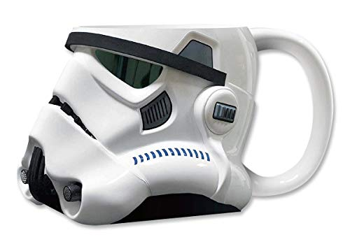 Star Wars STAR285 Storm Trooper 3D-keramische mok (12 x 14 x 15 cm)