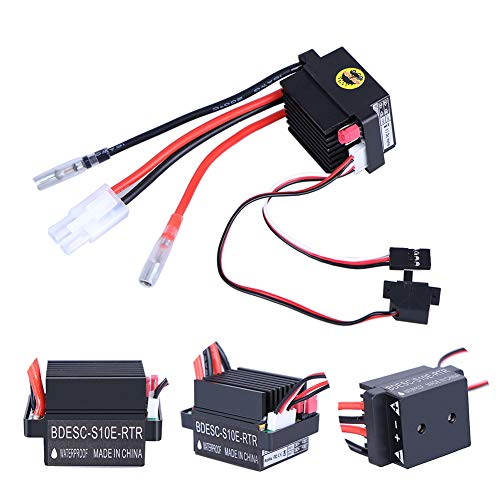 ESC 320A Brushed Motor Speed Controller Replacement Speed Controller For RC Boat Car High Voltage Halloween Christmas