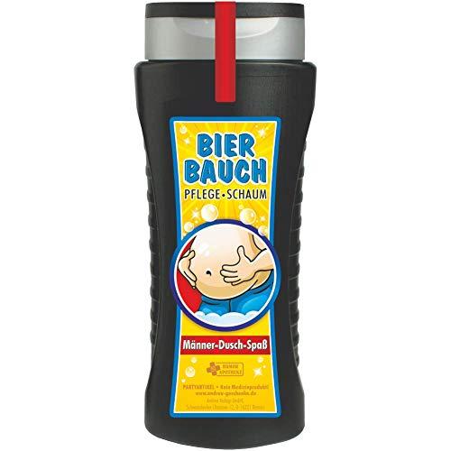 Andrea Verlag Spaß Duschbäder Duschgel Shampoo zum Geburtstag Geschenk für Männer Frauen (Bierbauch 33031)