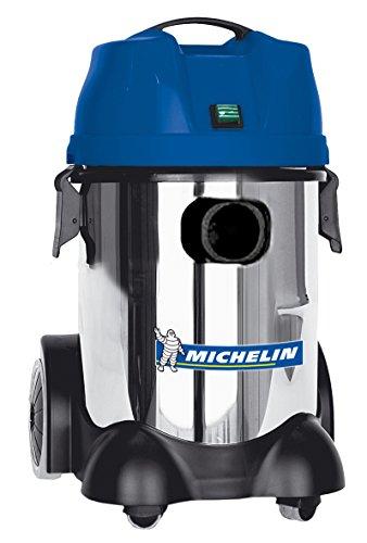 Michelin CA-VCX30PEINOX - Aspirador para sólidos y líquidos 30 lt. Tanque Metal. TELECOMANDADO
