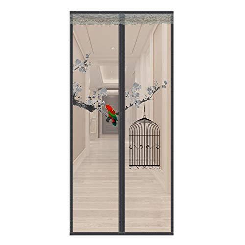 LLUVIAXHAN Externe Moskitonetz-Terrassentür Anti-Insektentür, Balkon-Anti-Fly-Screen-Tür, Sehr Gut Geeignet Für Kellertür, Terrassentür, Anti-Insekten-Fenstertür Screen-Tür,C,100 * 220cm