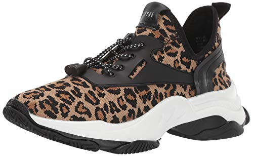 Steve Madden Women's Myles Sneaker, Leopard, 7.5