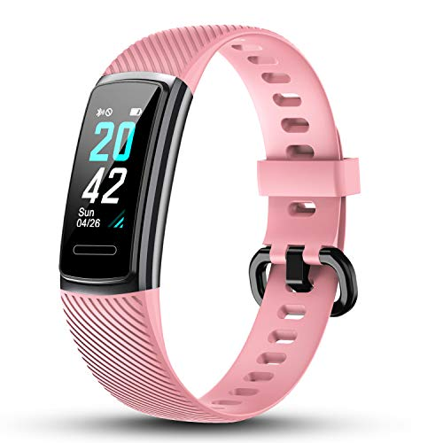 LETSCOM High-End Fitness Trackers HR, IP68 Waterproof Fitness Watch with...