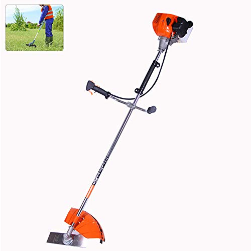 Great Price! DNNAL Small Lawn Mower, Side-Mounted Electric Lawnmower String Trimmer,1.2L Can Be Used...