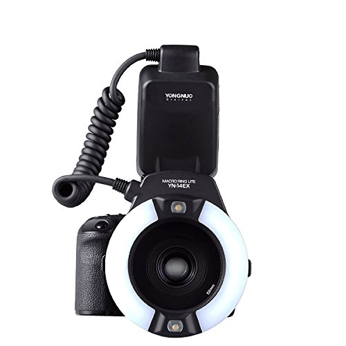 Yongnuo YN-14EX–Flash TTL Light + adaptador para cámara réflex digital Canon 6d...
