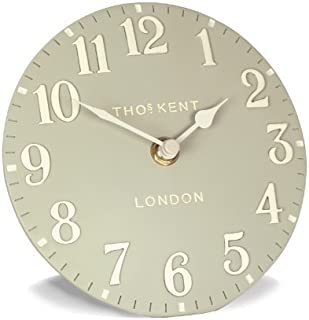 Thomas Kent Arabic Mantle Clock - 15cm Stone 6017